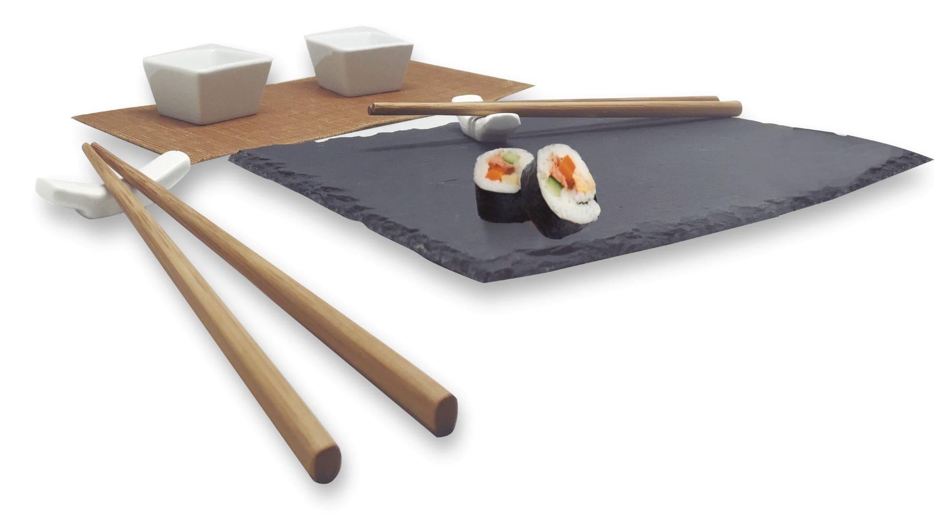 Nerthus_сет за суши с каменна плоча